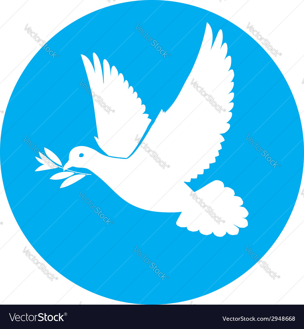 Dove of peace vector | Price: 1 Credit (USD $1)