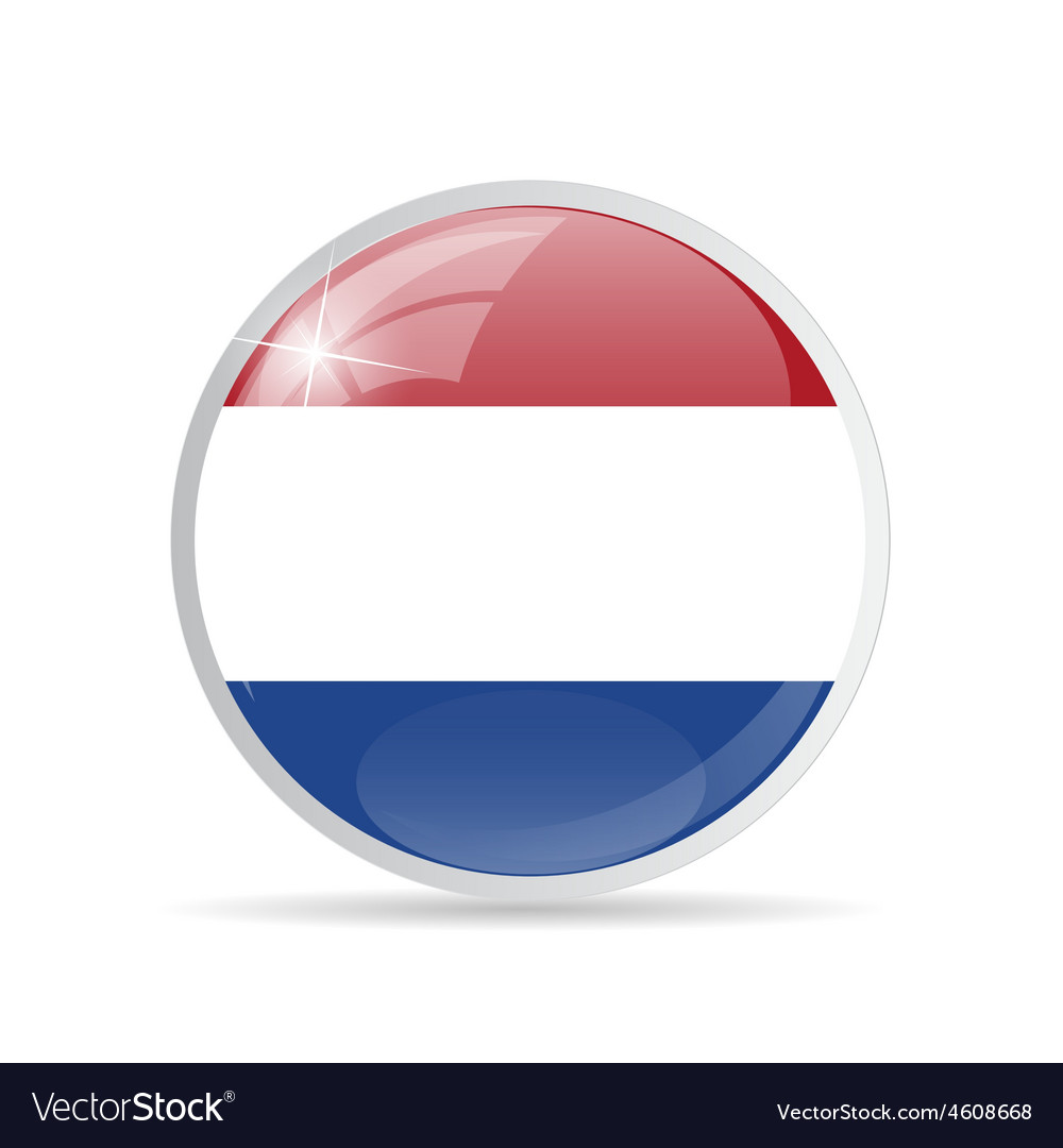 Round flag icon vector | Price: 1 Credit (USD $1)