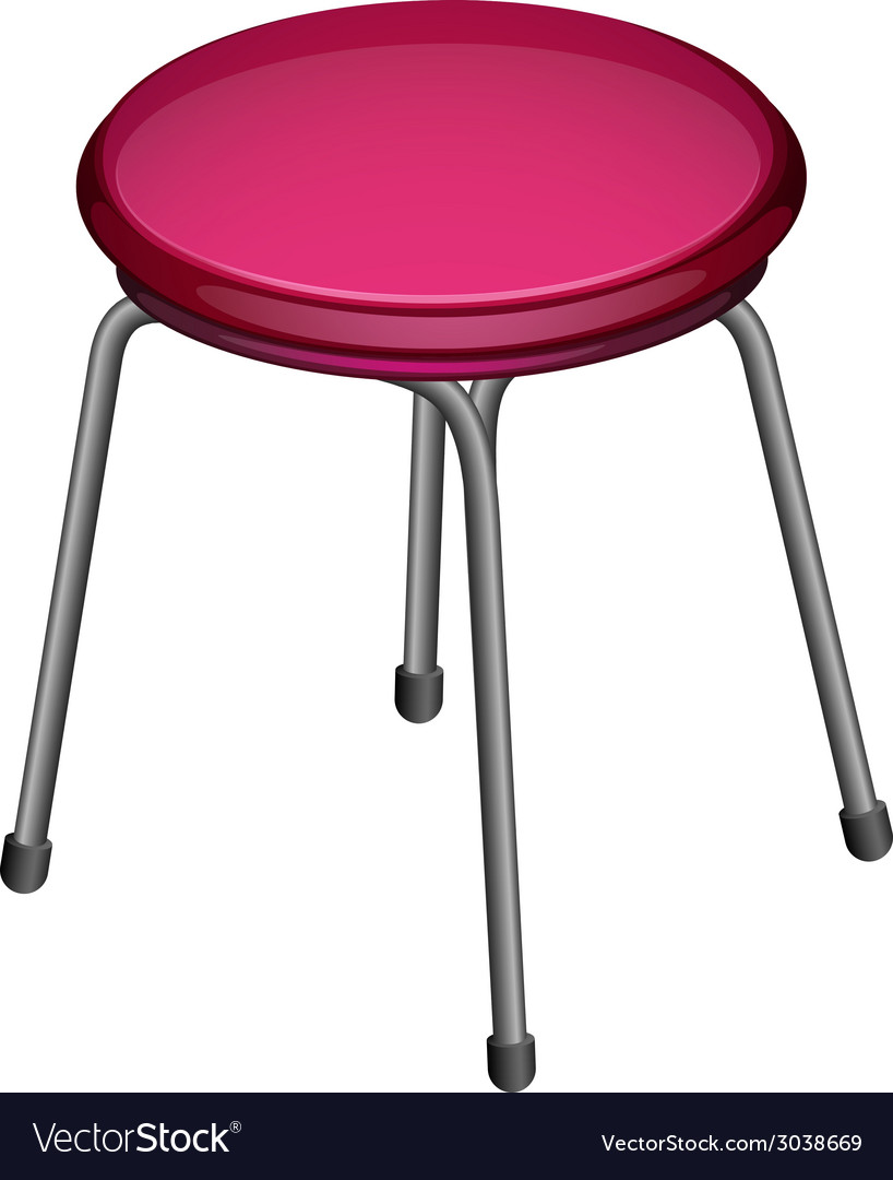 A round chair vector | Price: 1 Credit (USD $1)