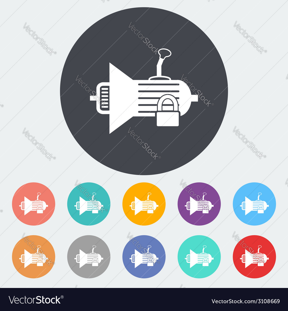 Icon gear vector | Price: 1 Credit (USD $1)