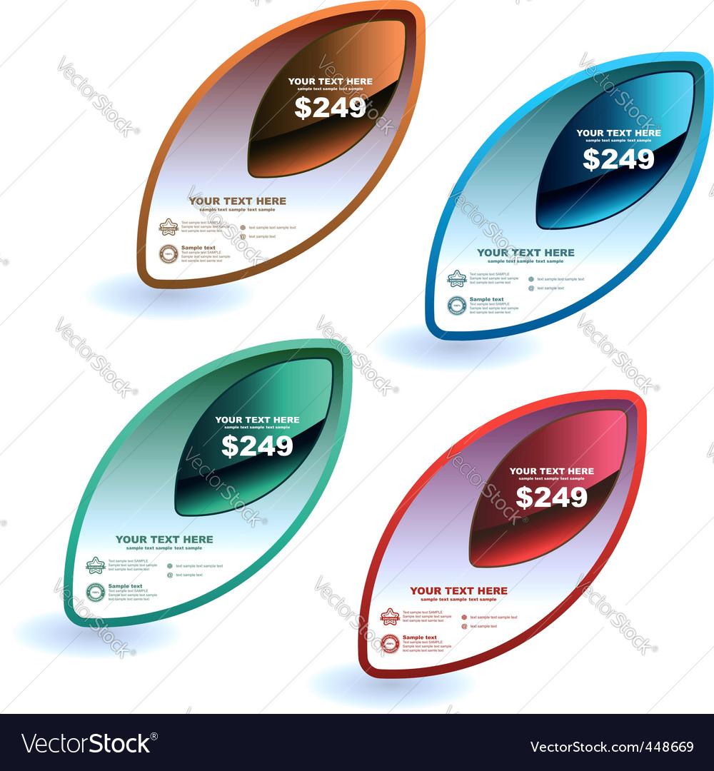 Sale design elements vector | Price: 1 Credit (USD $1)