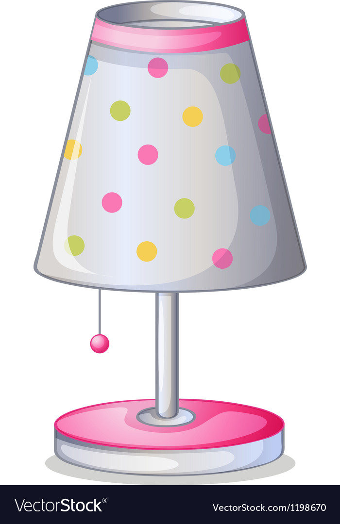A lampshade vector | Price: 1 Credit (USD $1)