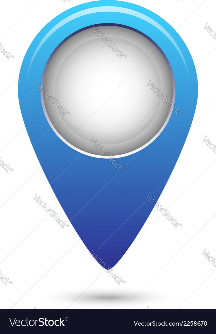 Navigation marker vector | Price: 1 Credit (USD $1)