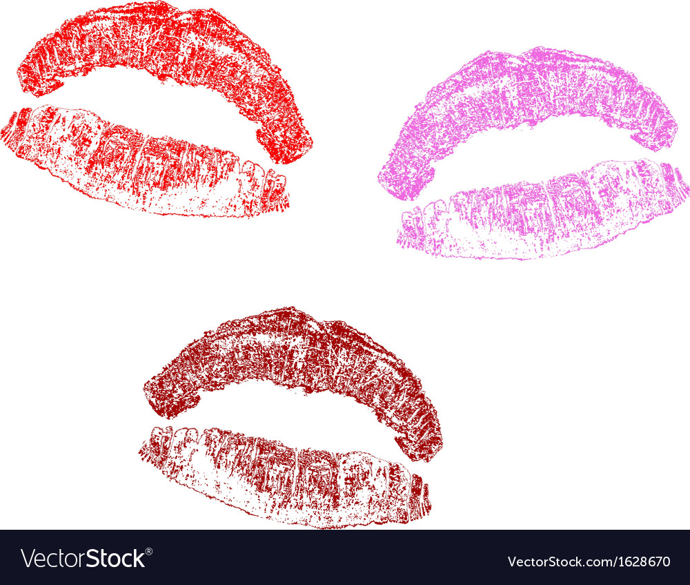 Print lips vector   Price: 1 Credit (USD $1)