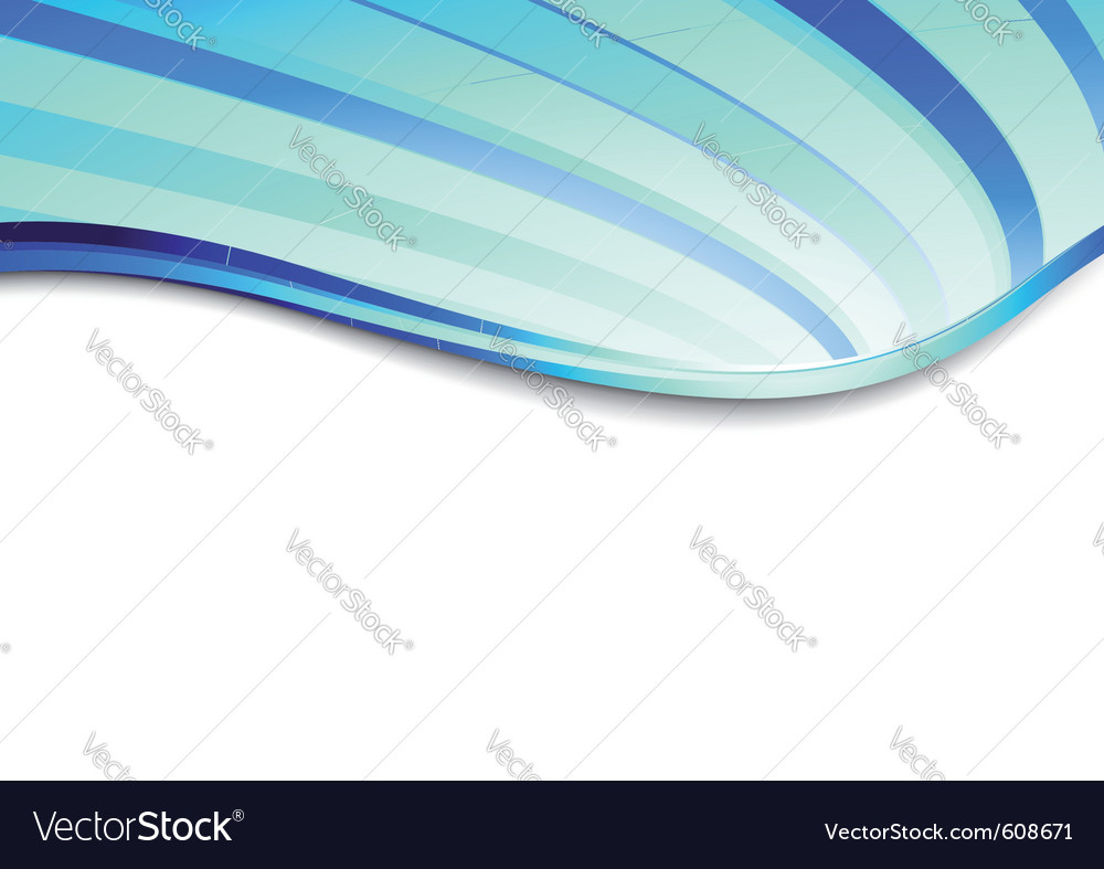 Blue business card lined vector | Price: 1 Credit (USD $1)