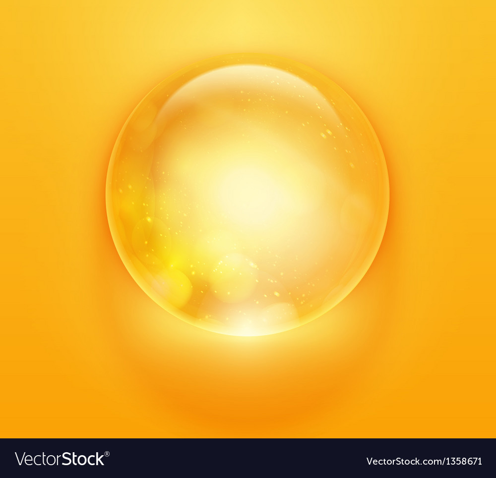 Colorful glossy sphere orb vector | Price: 1 Credit (USD $1)