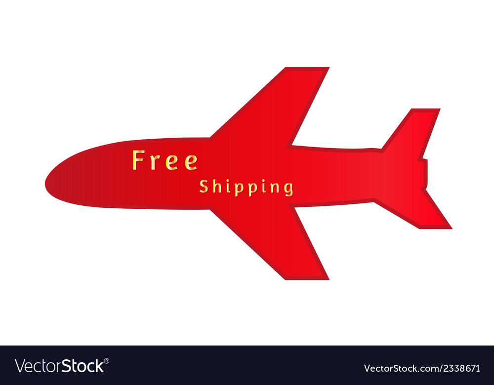 Free shipping vector   Price: 1 Credit (USD $1)