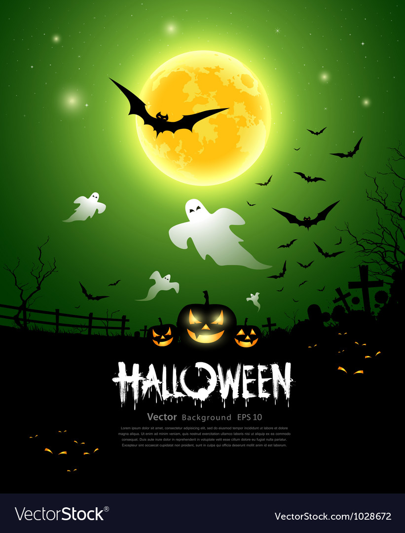 Happy halloween ghost design vector | Price: 3 Credit (USD $3)