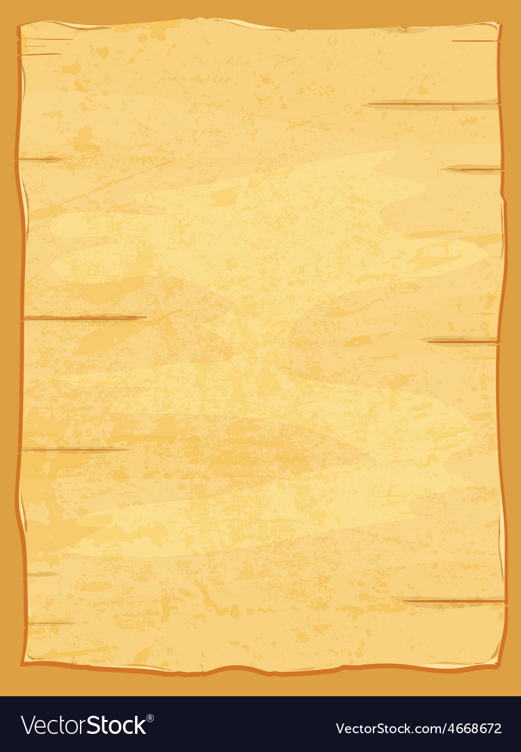 Yellow crumpled papyrus paper old sheet vector | Price: 1 Credit (USD $1)