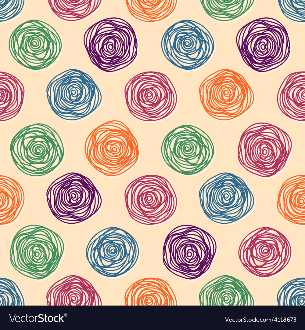 Background color pastel seamless pattern vector | Price: 1 Credit (USD $1)