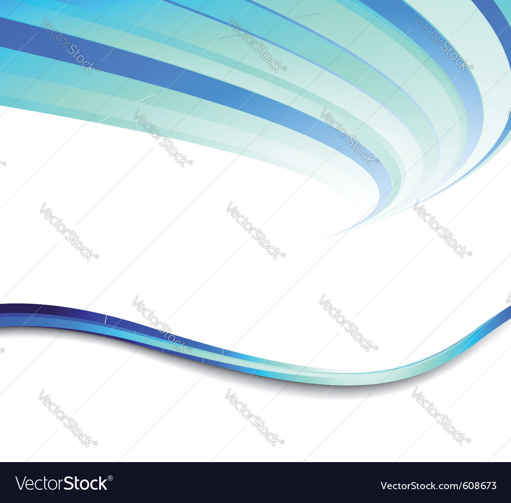 Blue flyer lined vector | Price: 1 Credit (USD $1)