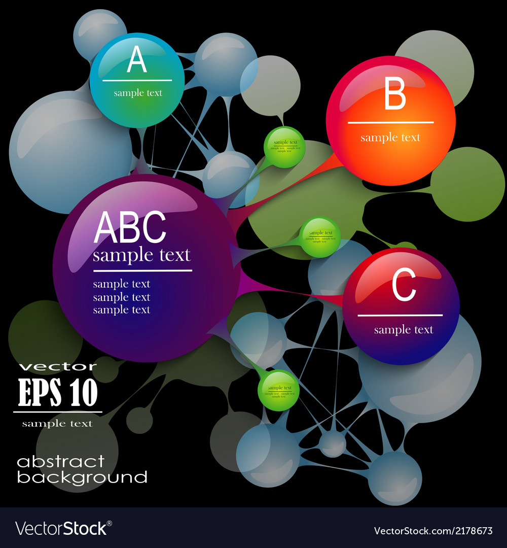 Infographics on a black background vector | Price: 1 Credit (USD $1)