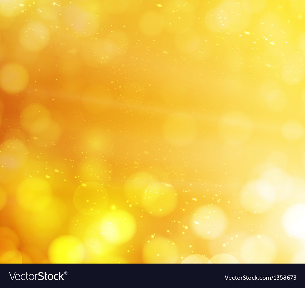 Orange bokeh lights abstract background vector | Price: 1 Credit (USD $1)