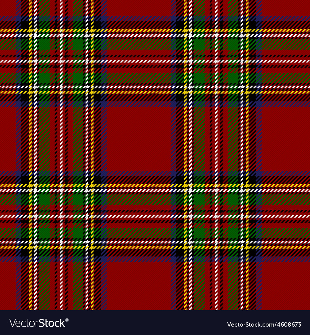 Royal stewart tartan vector | Price: 1 Credit (USD $1)
