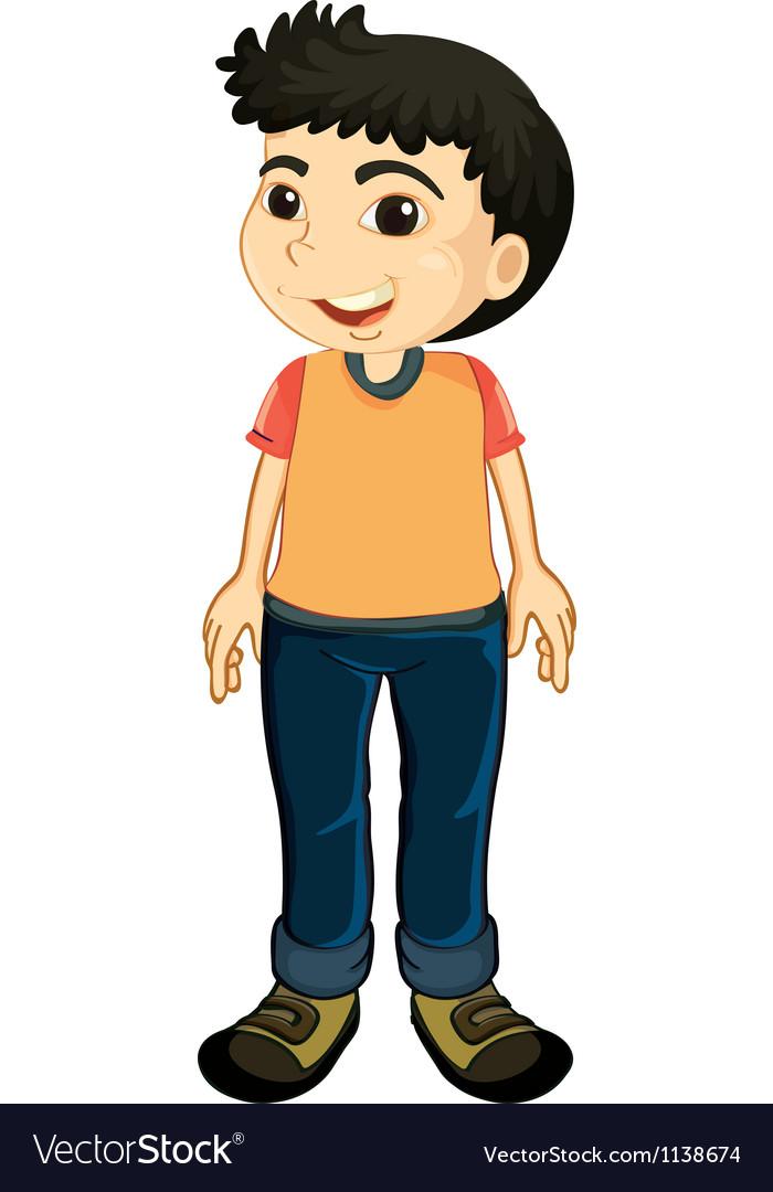 A boy vector | Price: 1 Credit (USD $1)