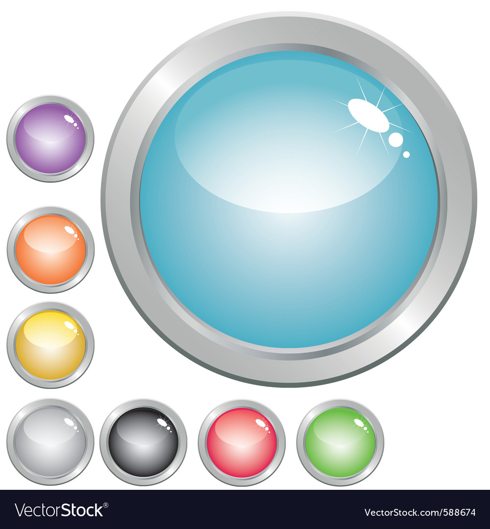 Glossy button vector   Price: 1 Credit (USD $1)