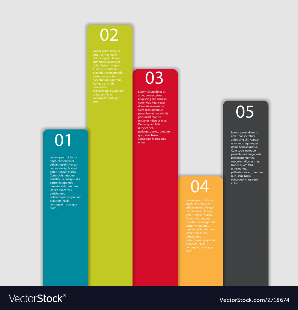 Infographic templates for business vector   Price: 1 Credit (USD $1)
