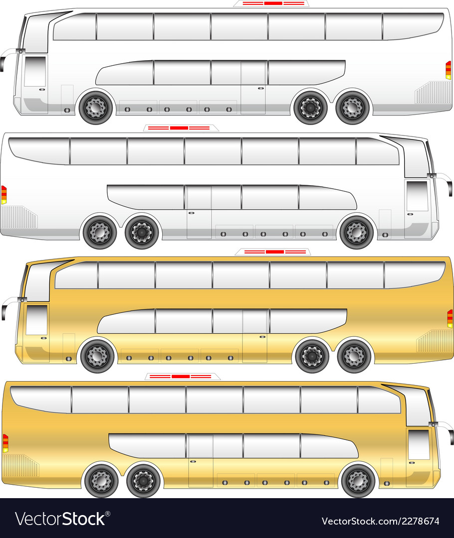 Super double deck bus vector | Price: 1 Credit (USD $1)