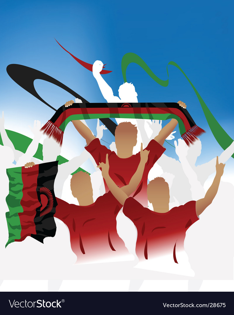 Malawi crowd vector | Price: 1 Credit (USD $1)