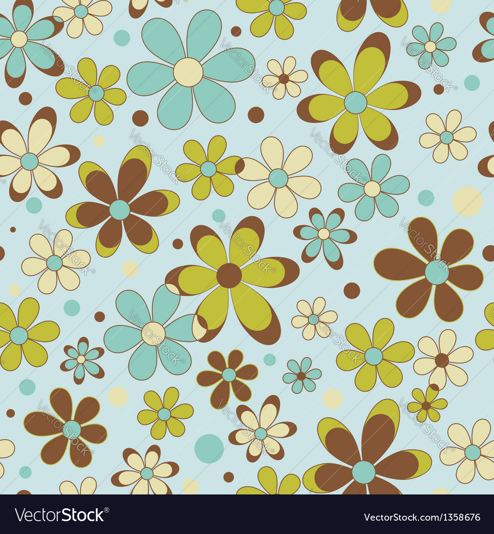 Colorful summer seamless pattern vector | Price: 1 Credit (USD $1)