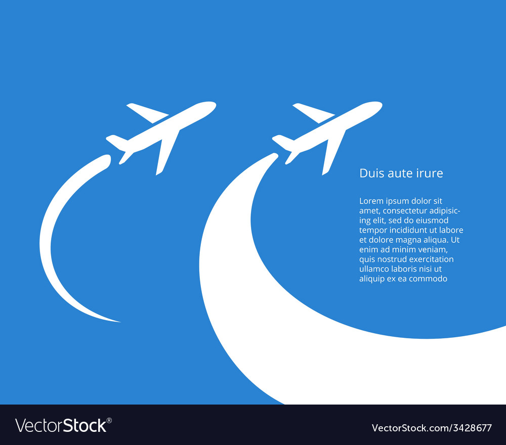Airplane icon design vector   Price: 1 Credit (USD $1)