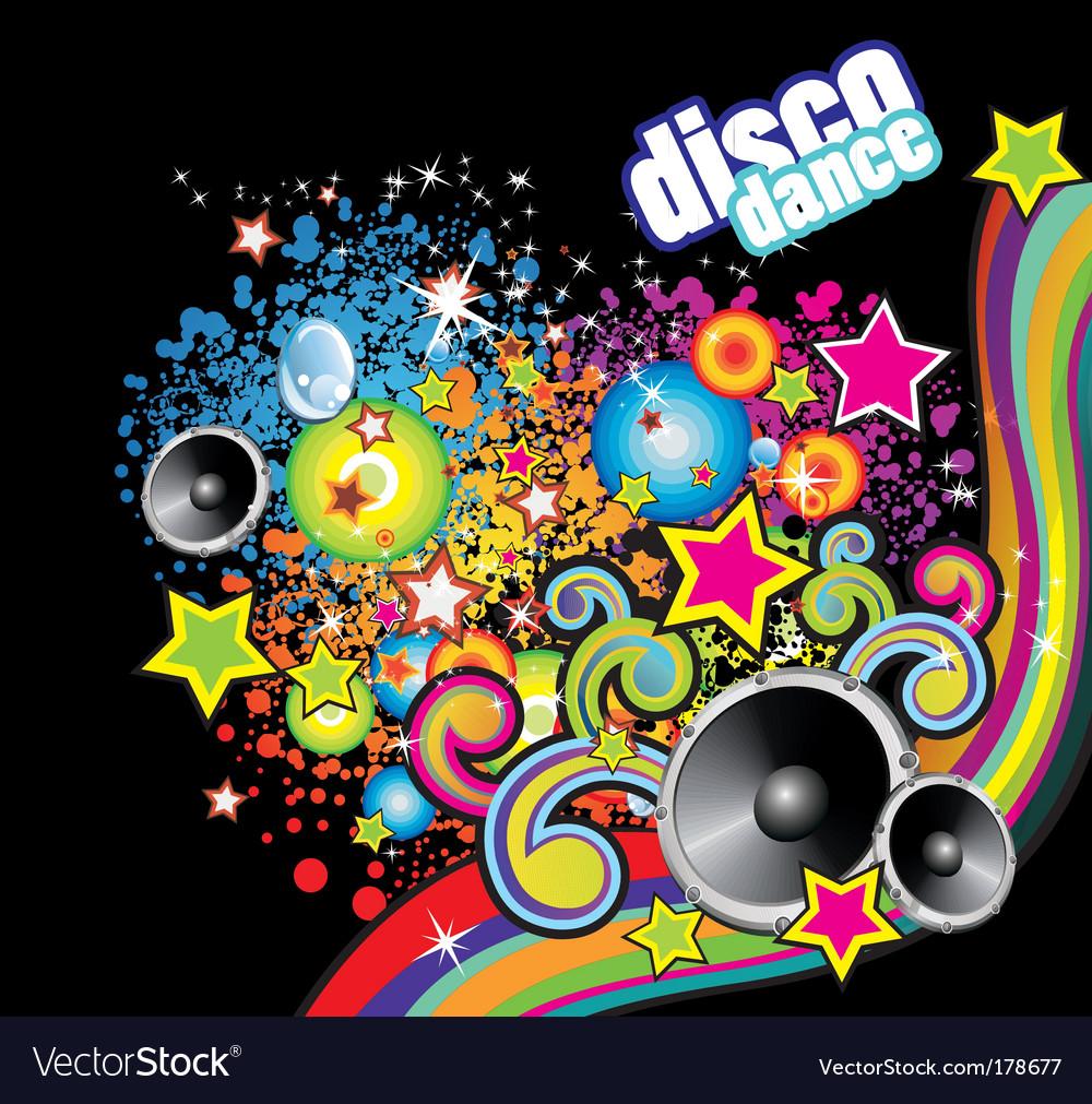 Disco dance flyer vector | Price: 3 Credit (USD $3)