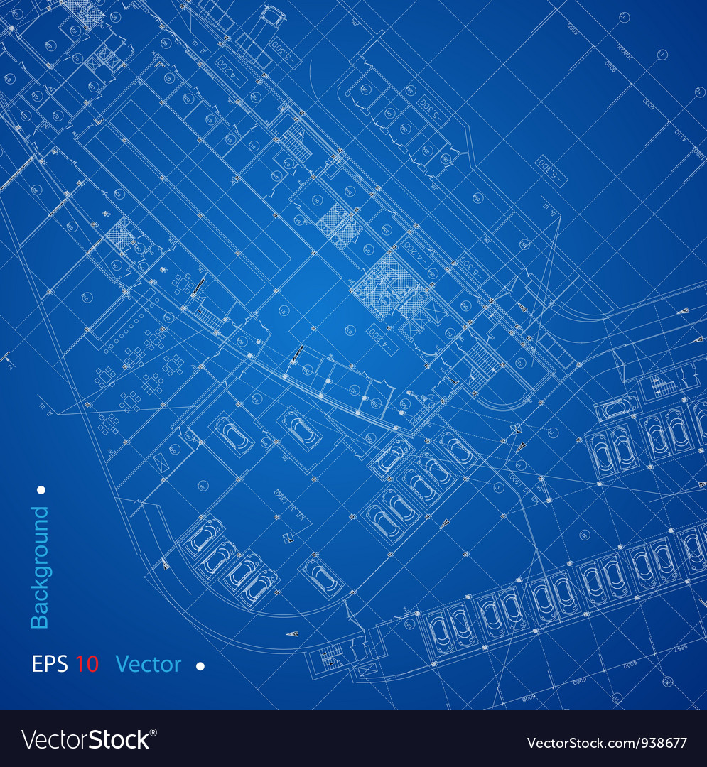 Urban blueprint vector | Price: 1 Credit (USD $1)