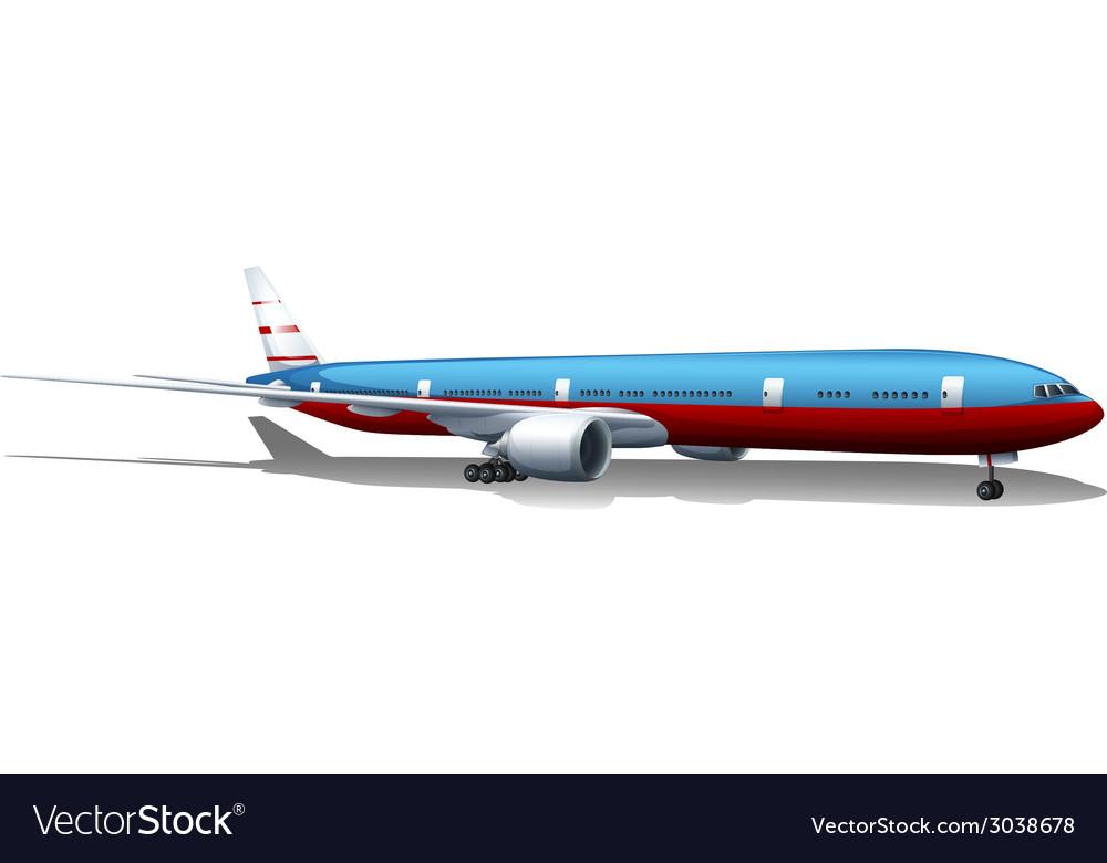 A big plane vector   Price: 1 Credit (USD $1)