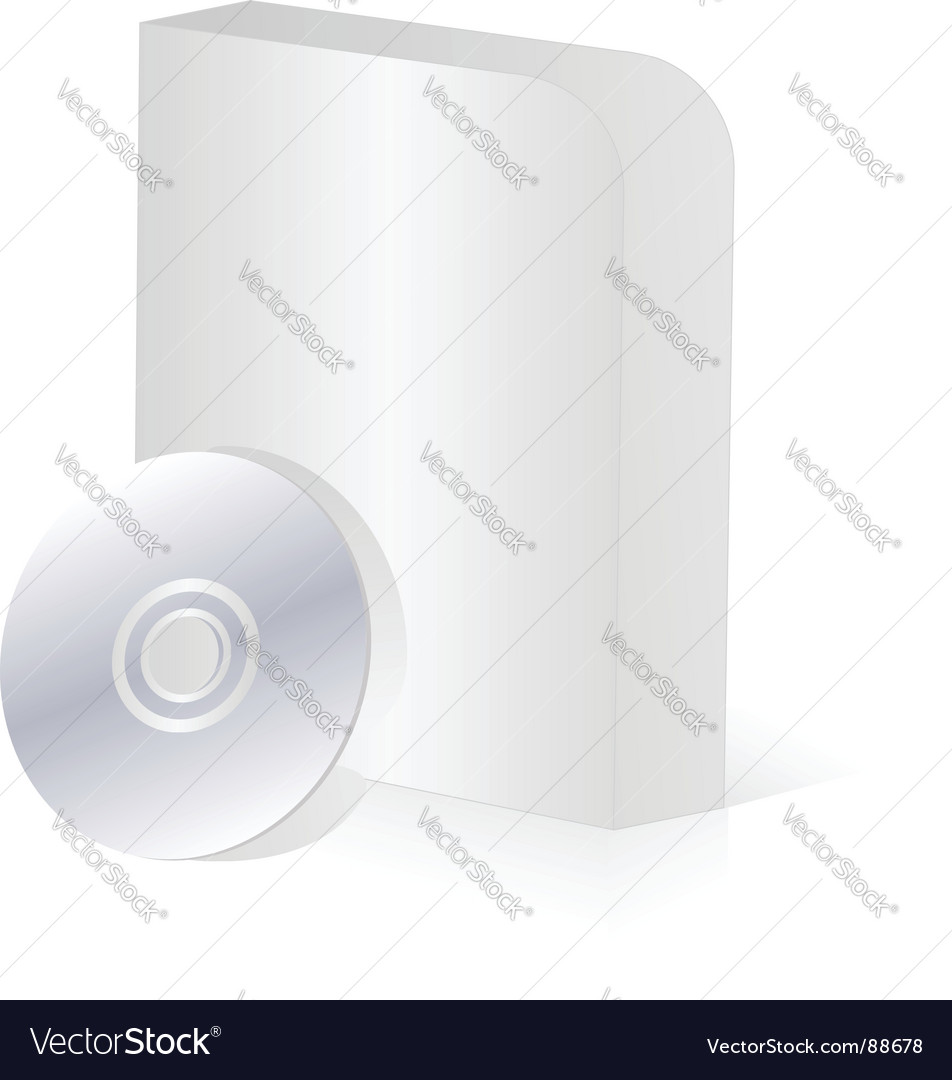 Software box vector | Price: 1 Credit (USD $1)