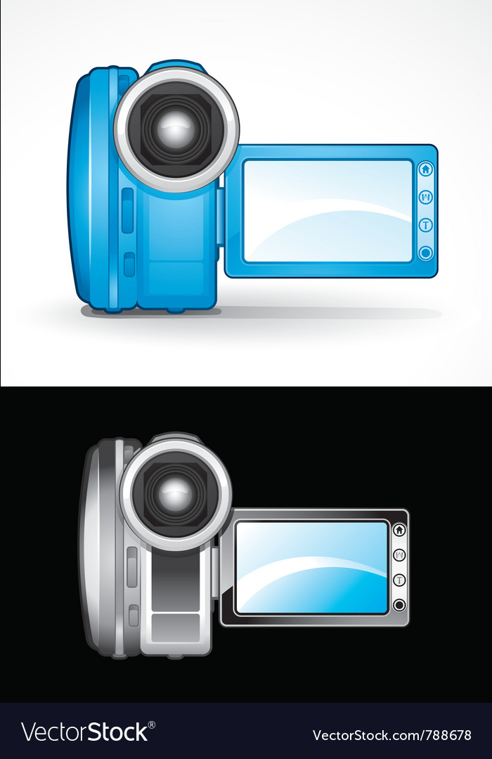 Video camcorders vector | Price: 3 Credit (USD $3)
