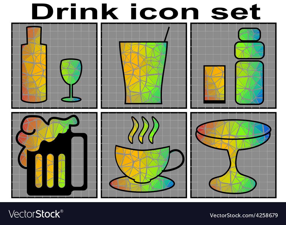 Drink icon vector | Price: 1 Credit (USD $1)
