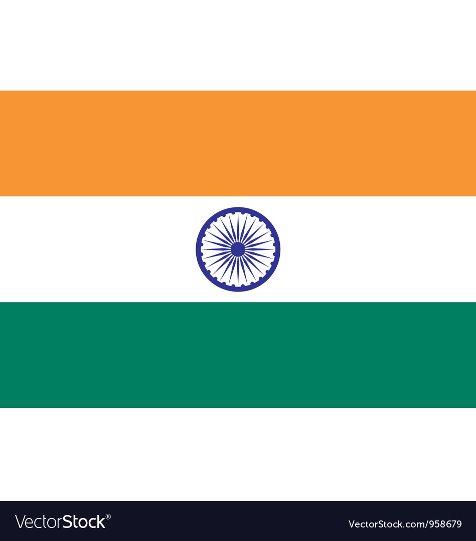 Indian flag vector | Price: 1 Credit (USD $1)