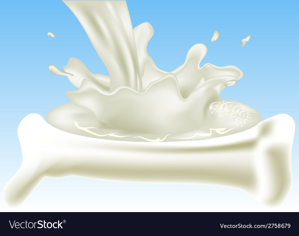 Milk for your bones vector | Price: 1 Credit (USD $1)