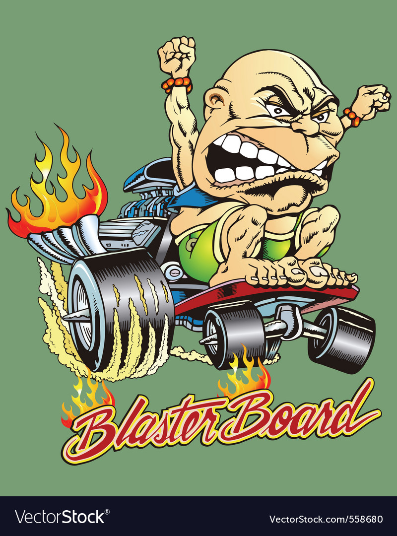 Blaster board vector | Price: 3 Credit (USD $3)