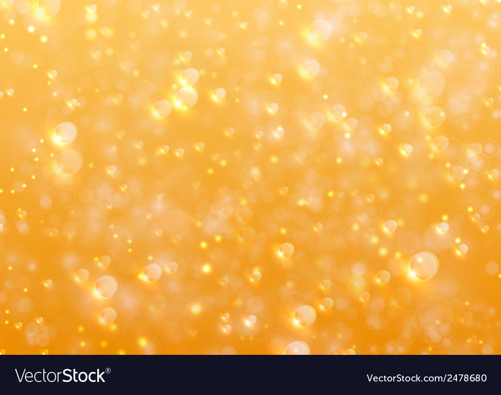 Bubble orange water vector | Price: 1 Credit (USD $1)