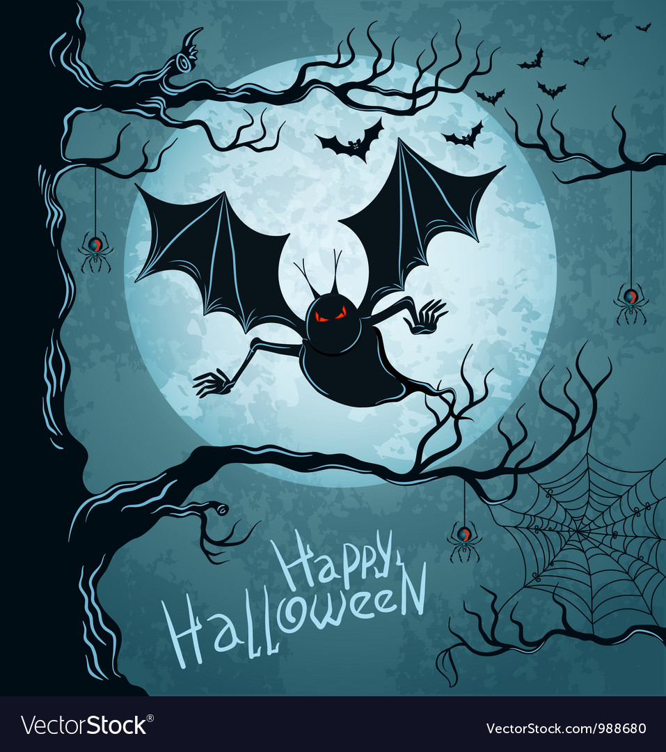 Grungy halloween background vector   Price: 3 Credit (USD $3)