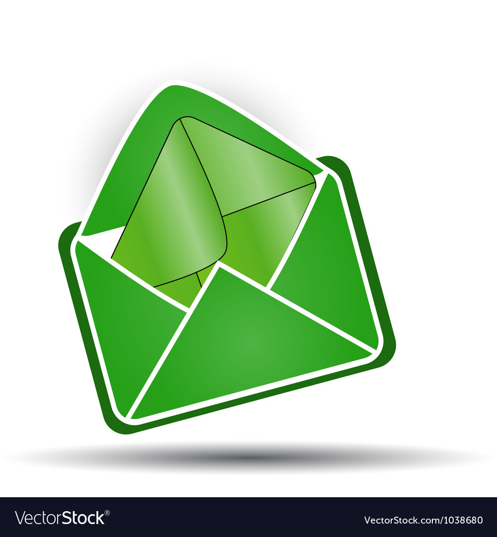 Mail in mail vector | Price: 1 Credit (USD $1)
