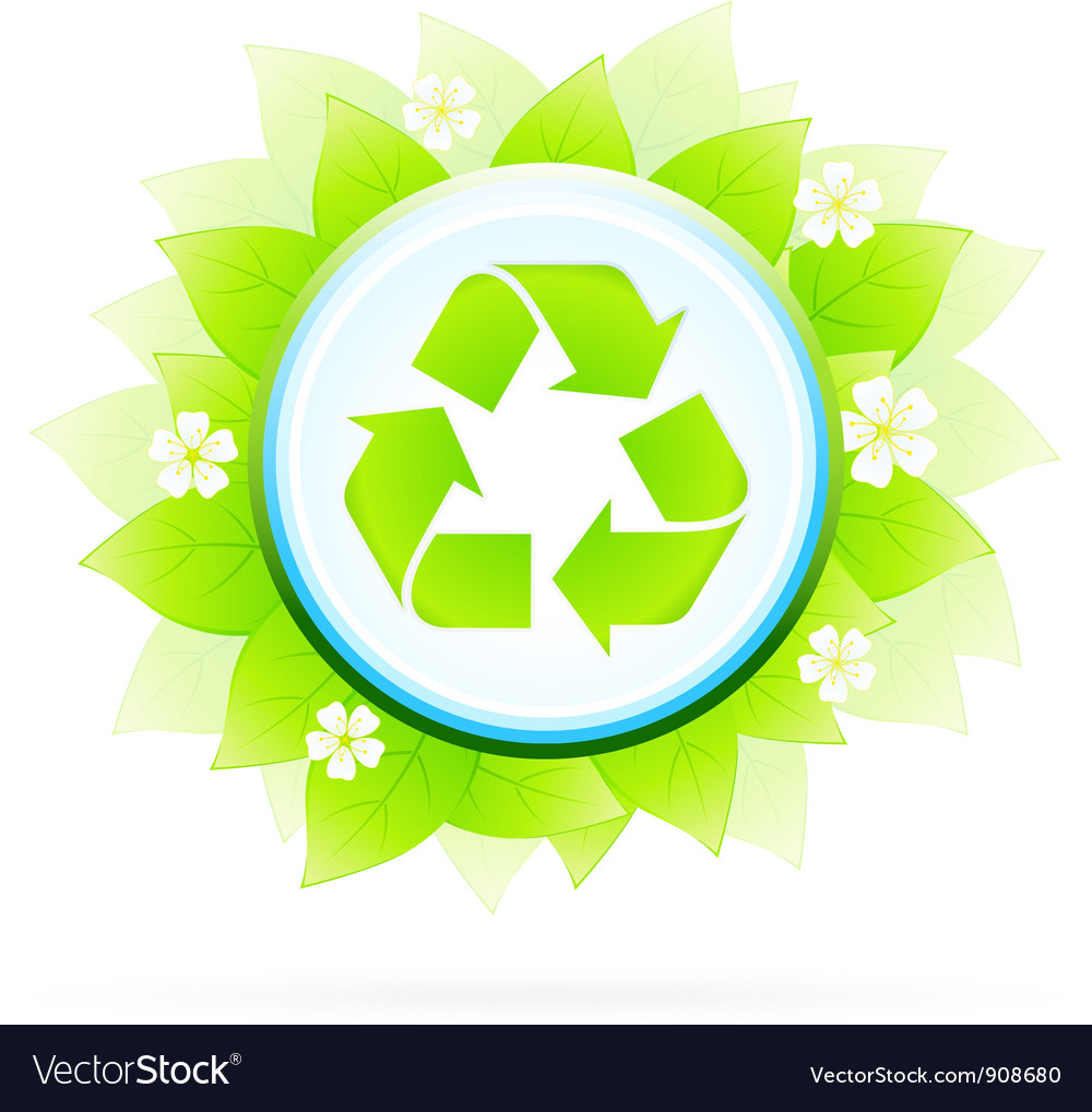 Recycling symbol vector | Price: 3 Credit (USD $3)