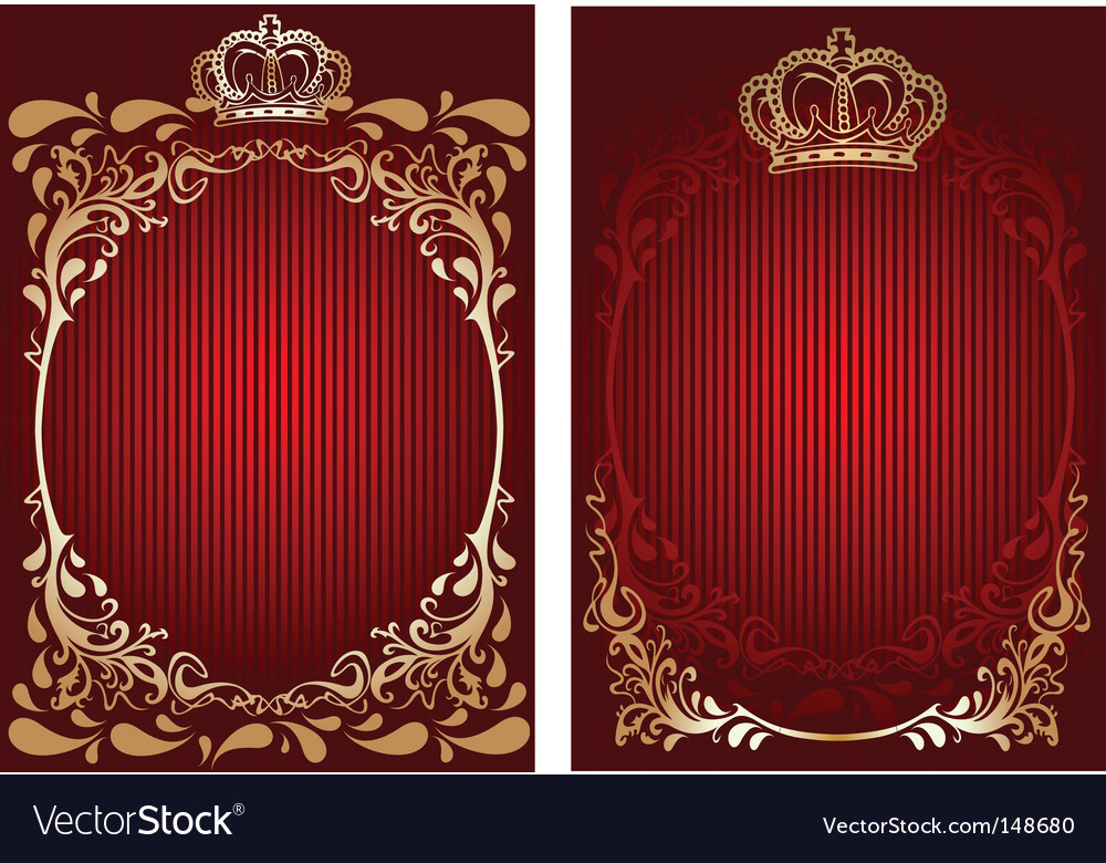 Royal banner vector | Price: 1 Credit (USD $1)