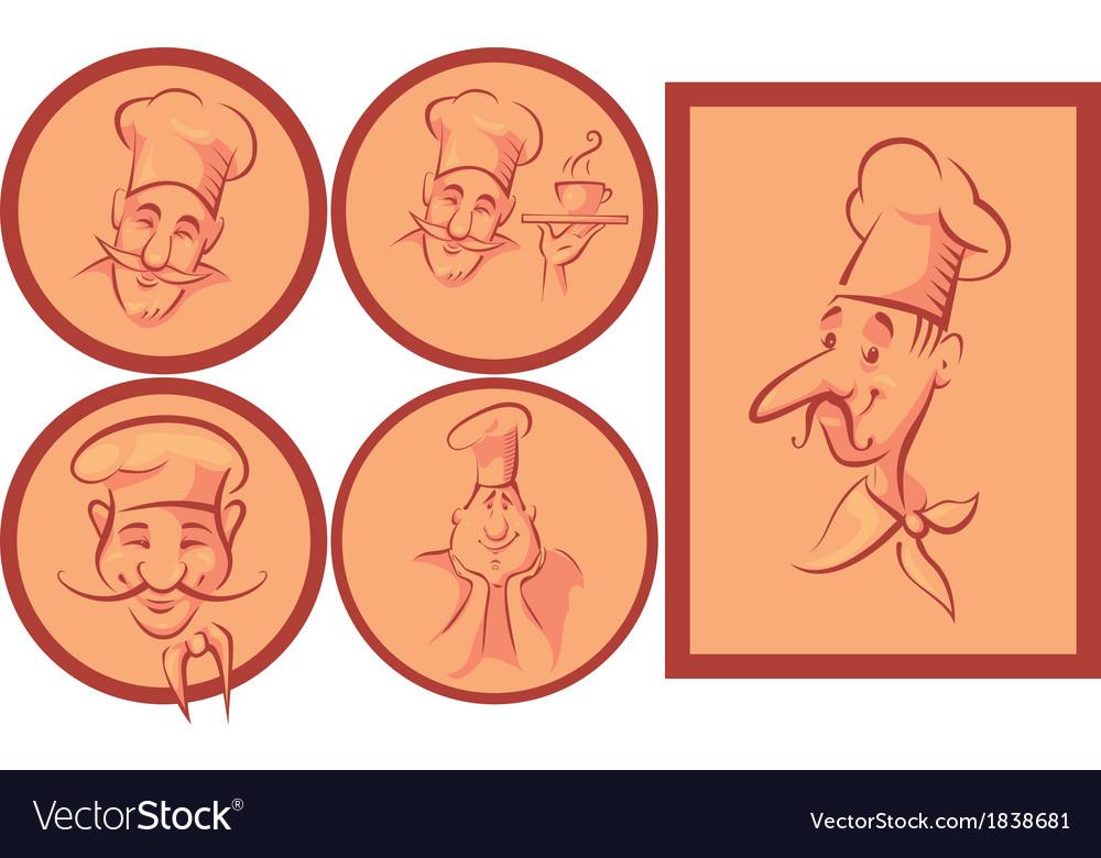 Chef cook set vector   Price: 1 Credit (USD $1)