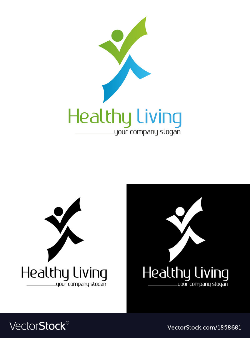 Healtly living vector | Price: 1 Credit (USD $1)