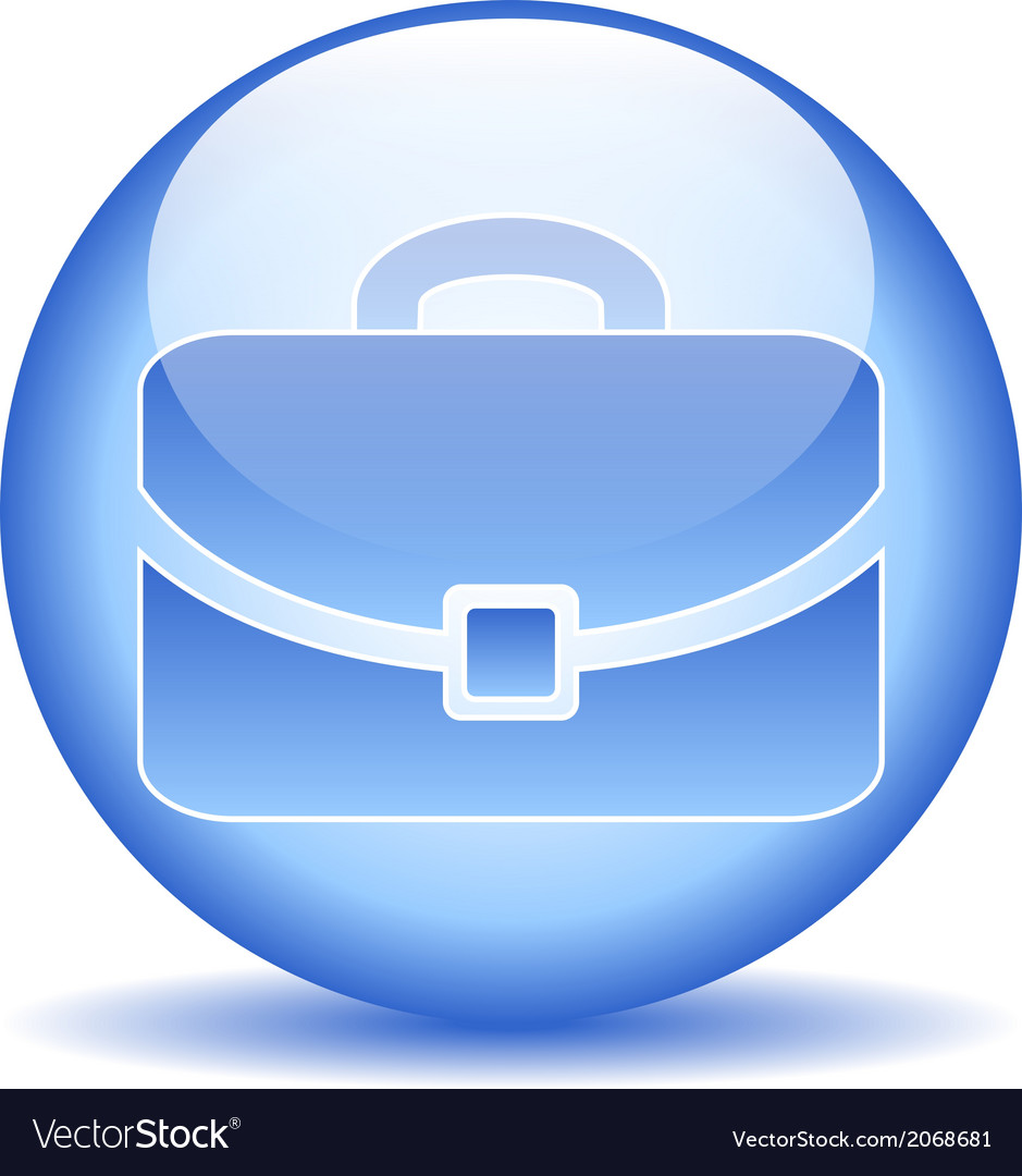 Portfolio button vector | Price: 1 Credit (USD $1)