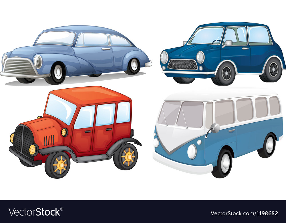 Different vehicle styles vector | Price: 1 Credit (USD $1)