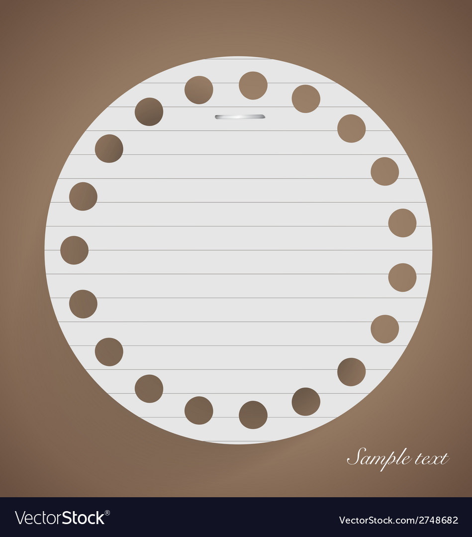 Note papers ready for your message vector   Price: 1 Credit (USD $1)