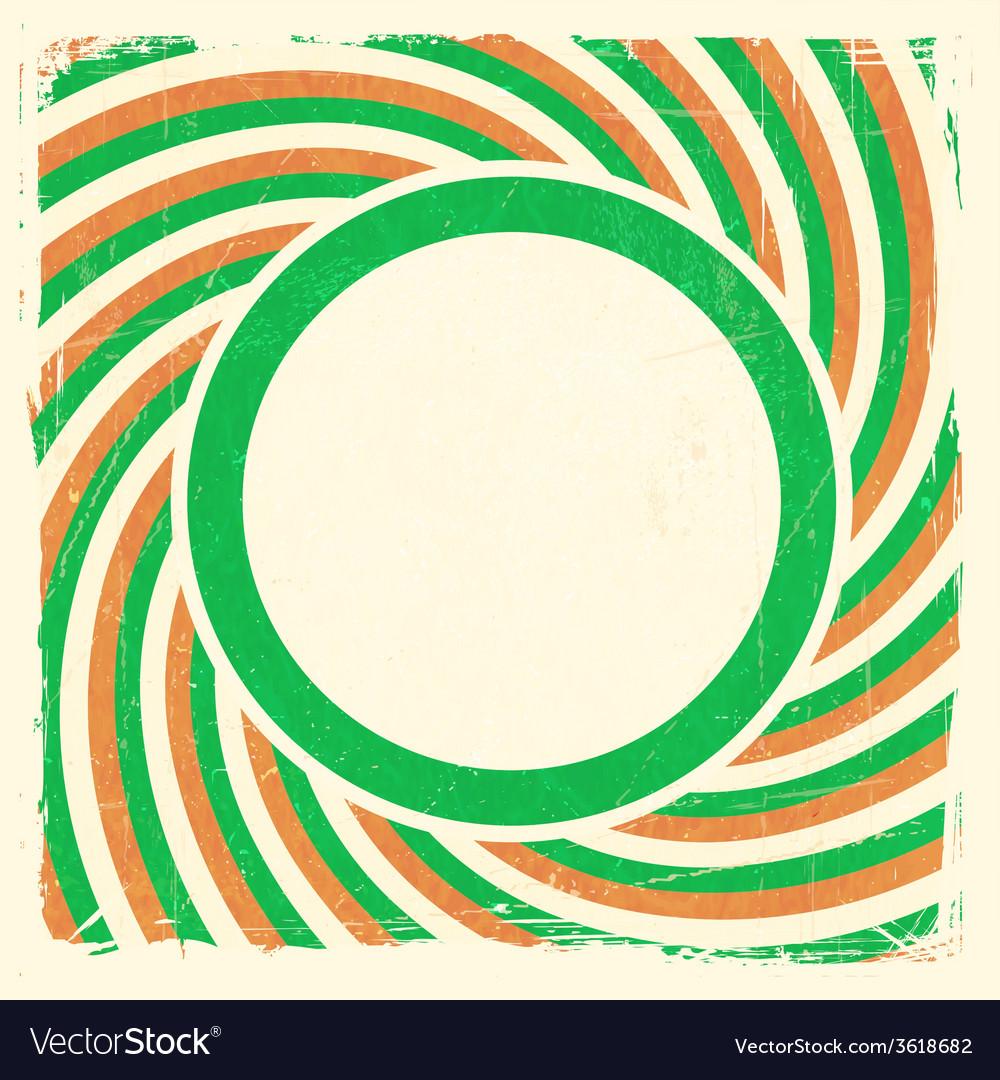 Swirly stripes roi flag design vector | Price: 1 Credit (USD $1)
