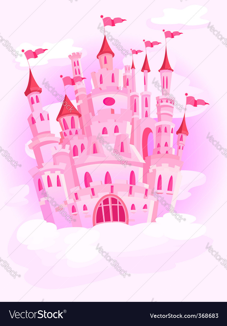 Castle in the sky vector | Price: 1 Credit (USD $1)