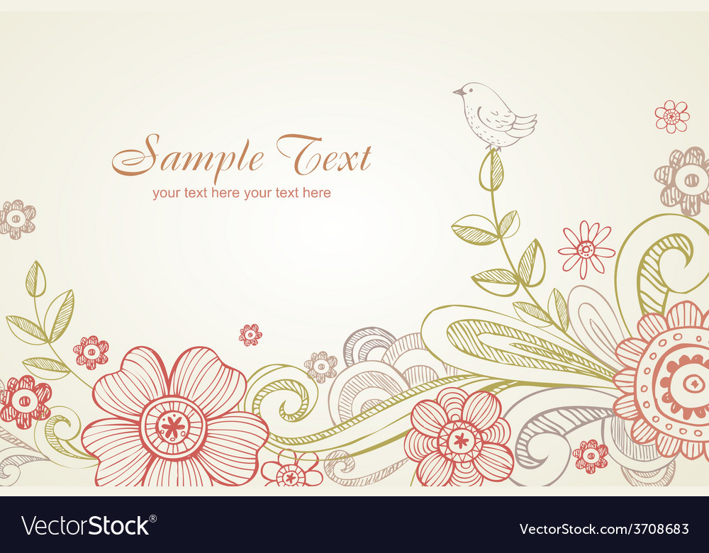 Greeting card for wedding or valentine day vector | Price: 1 Credit (USD $1)