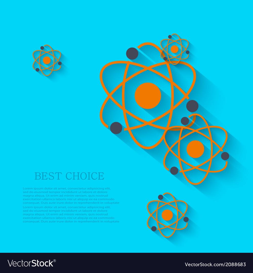 Modern chemistry background eps 10 vector | Price: 1 Credit (USD $1)