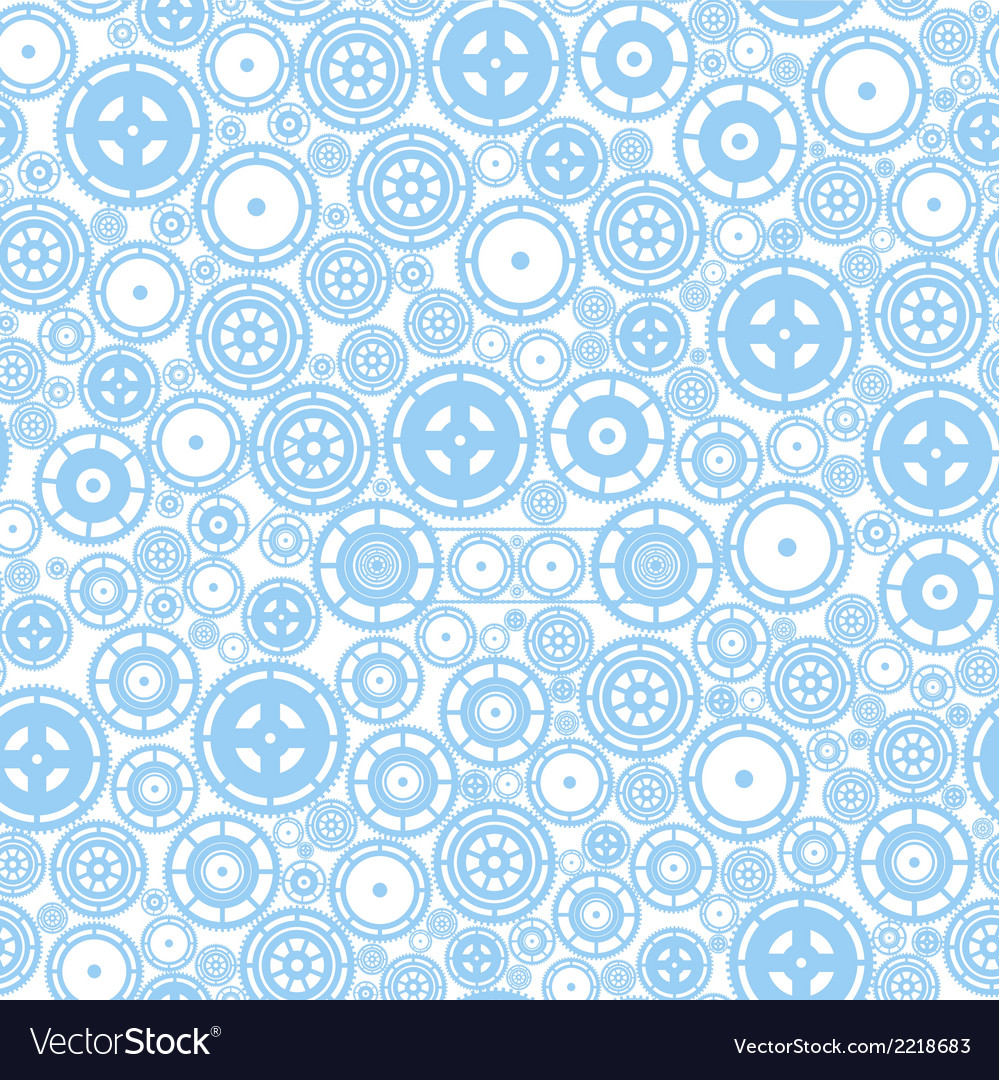 Seamless cogwheel pattern vector | Price: 1 Credit (USD $1)