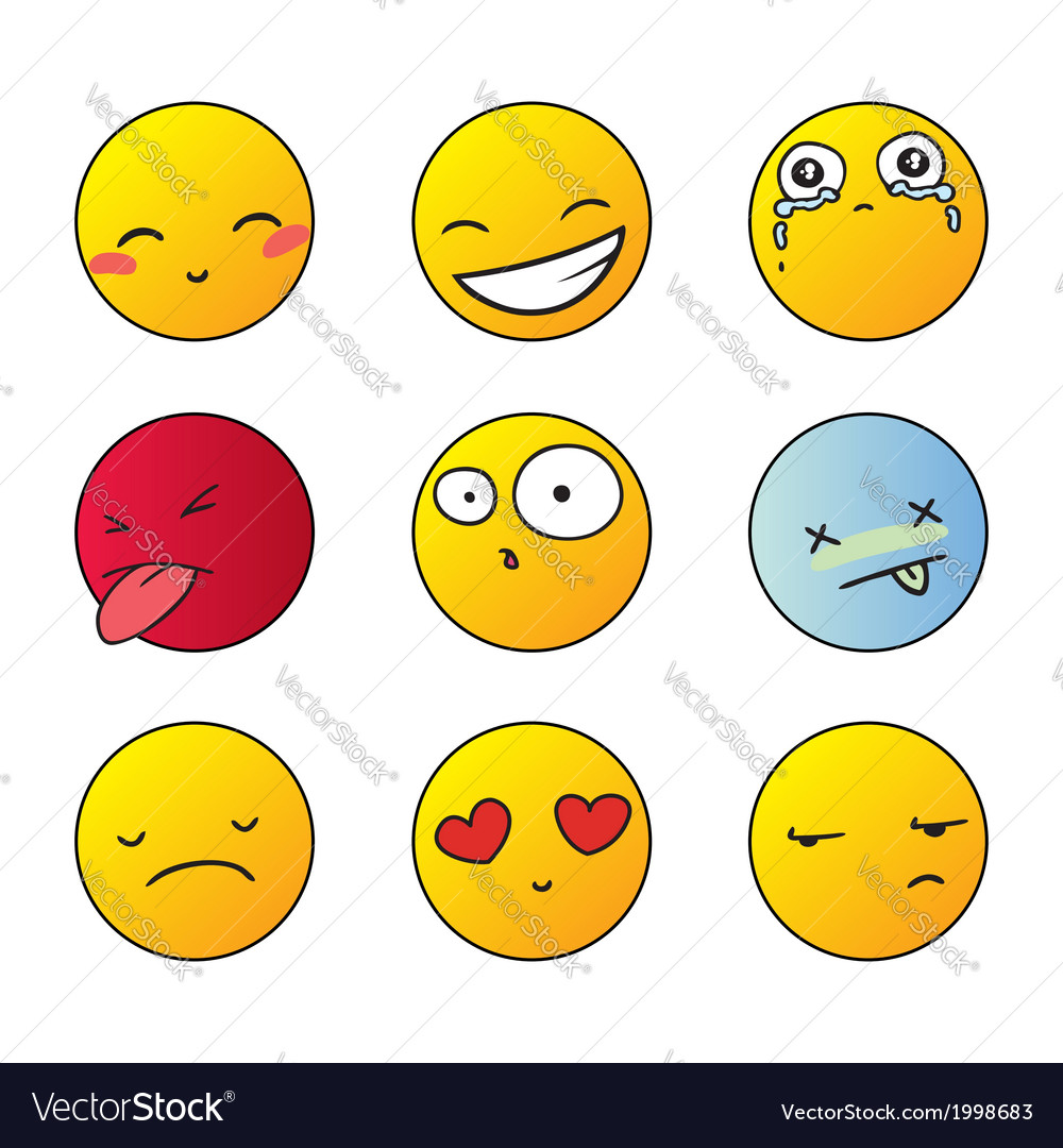 Set of smiles vector | Price: 1 Credit (USD $1)